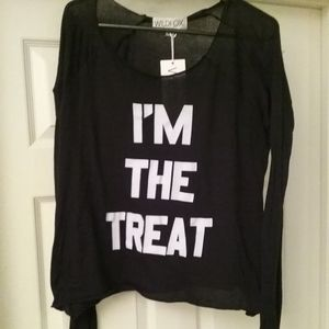 BNWT-Wildfox I'm The Treat Sweater